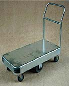Single Deck (Platform) 6 Wheel Trolley
