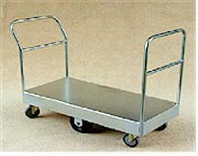 TS/085 - Single Deck Double Ended Stock Trolley