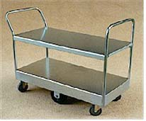 TS/086 - Double Deck Double Ended Stock Trolley