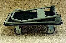 Trolley with Folded Handle