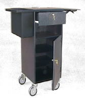 TX/125 Merchandise Trolley with door