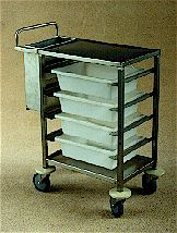 TSS/077 Stainless Steel Cafe Trolley